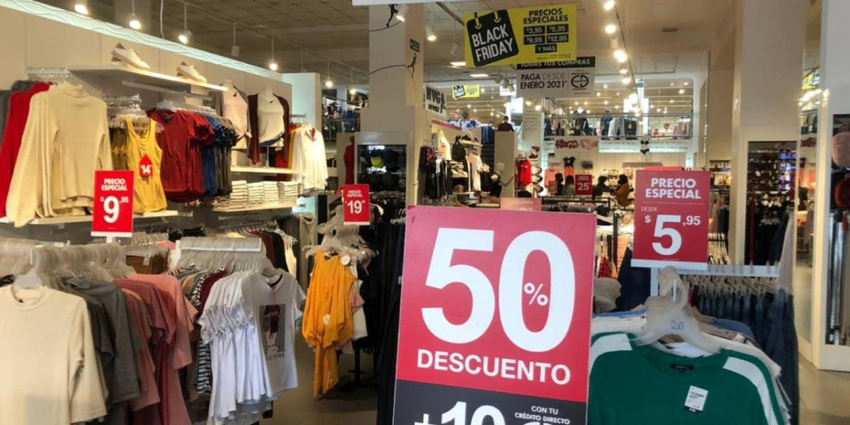 Black Friday llegó a Etafashion con ofertas de hasta el 70%