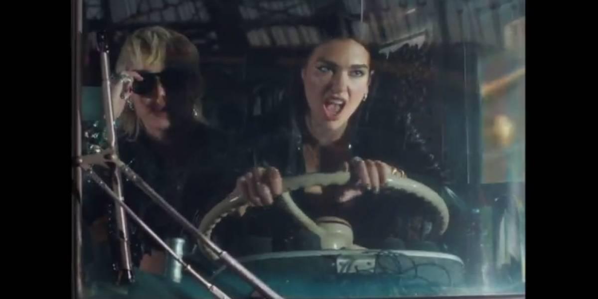 """Miley Cirus y Dua Lipa remecen las redes sociales con el lanzamiento de """"Prisioner"""""""