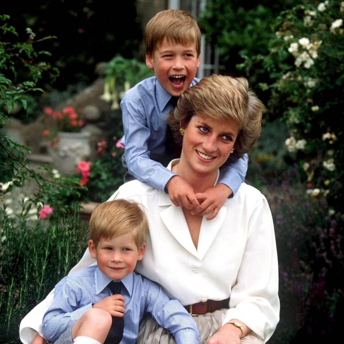 Diana entendía que aunque sus hijos eran príncipes tenían paladares de infantiles, así que los complacía.
