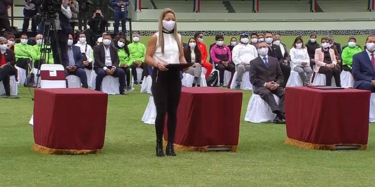 Renata Zarazúa y Julio Urías encabezan ceremonia de entrega del Premio Nacional del Deporte