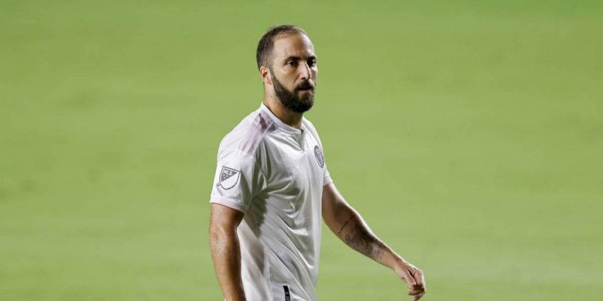 Gonzalo Higuaín y dos jugadores del Inter de Miami dan positivo a Covid-19