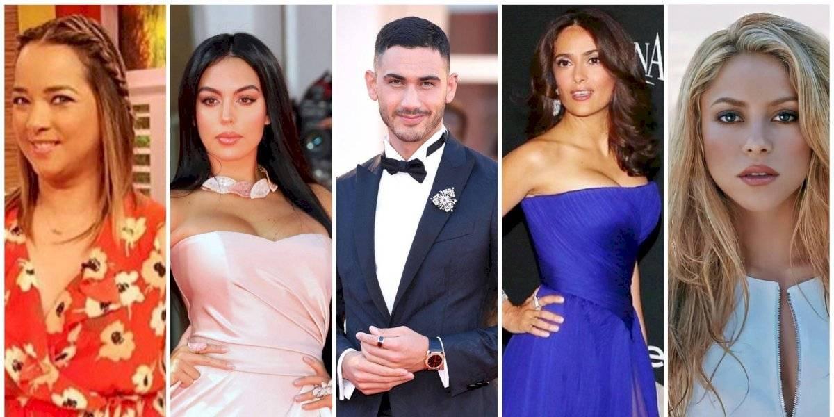Famosos latinos que se robaron el corazón de personalidades europeas