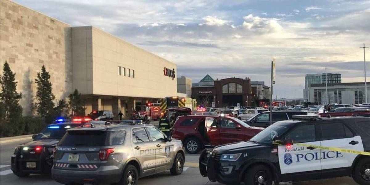 En Estados Unidos, reportan tiroteo en un centro comercial