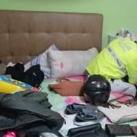 Quito: así fue el allanamiento a la vivienda de pareja de asaltantes