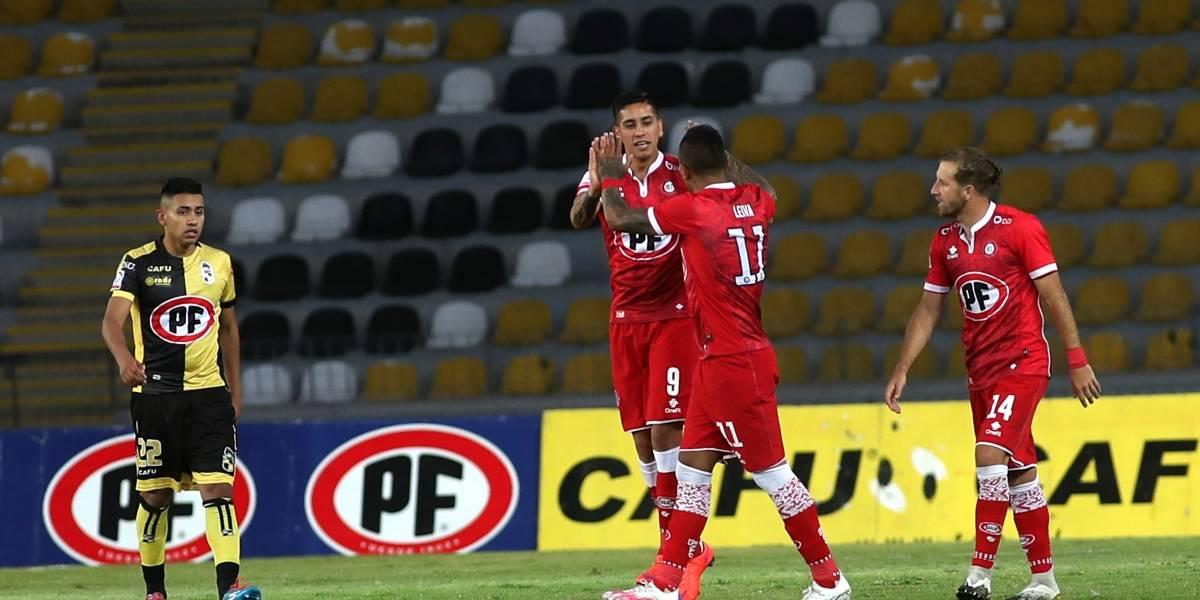 Unión La Calera derrota de visita 2-1 a Coquimbo Unido y alcanza a la UC en la punta de la tabla