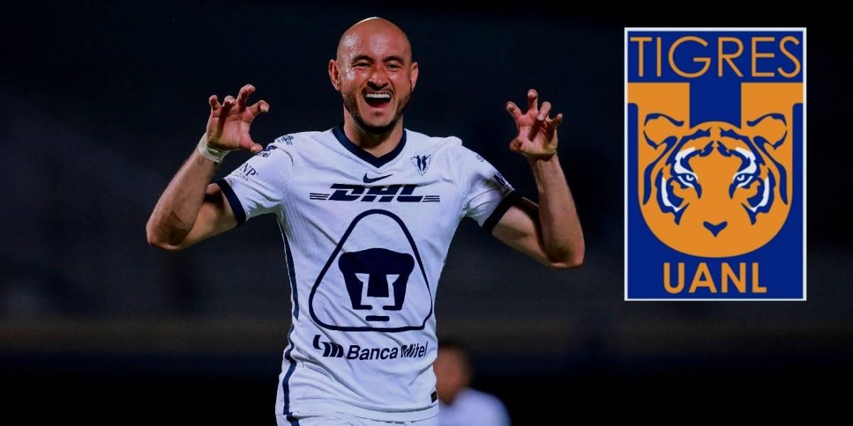 Pumas ya negociaría a Carlos González con Tigres