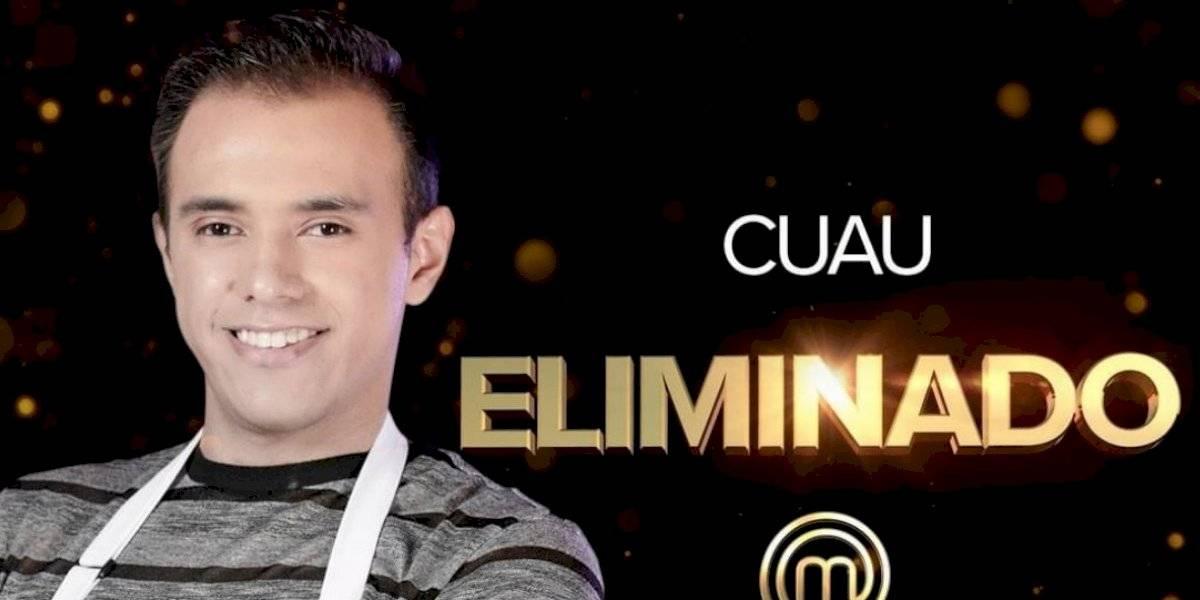 Cuauhtémoc Blanco Jr. es eliminado de MasterChef