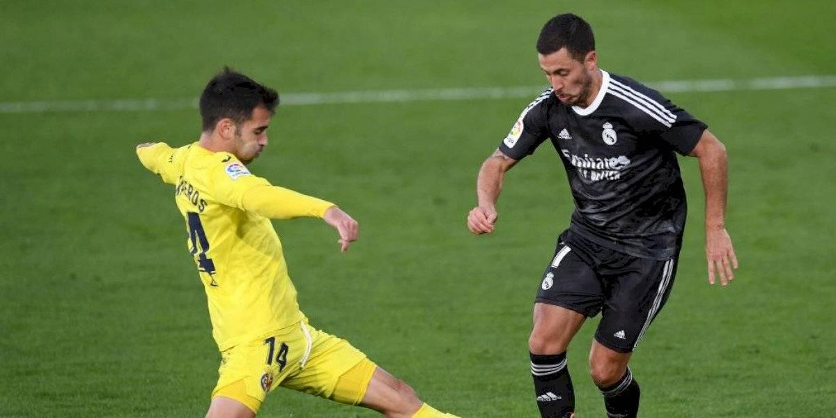 Real Madrid sufre y rescata el empate frente al Villarreal
