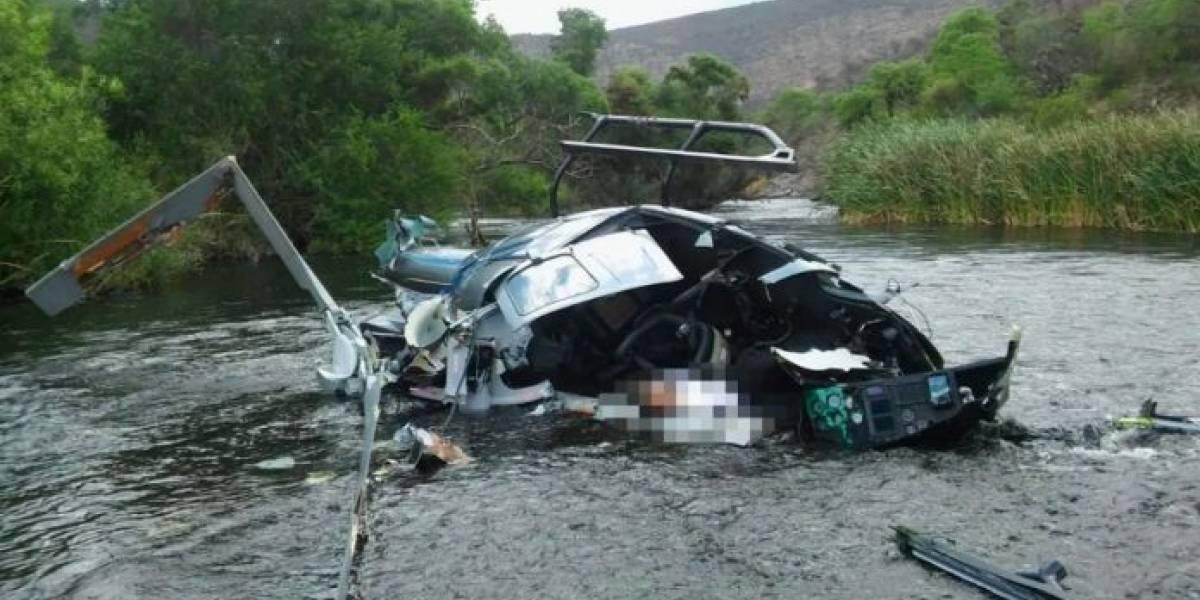 Banquero, empresario y millonario argentino murió tras estrellarse su helicóptero en Salta