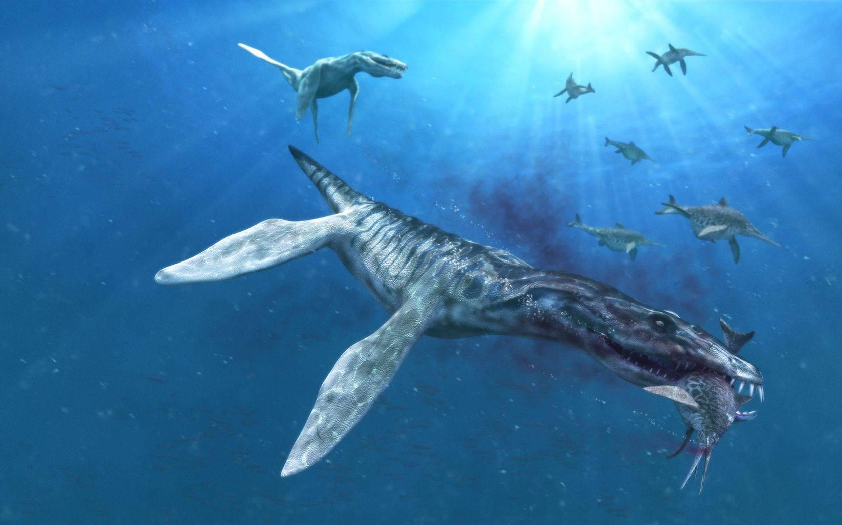 El Liopleurodon, uno de los más feroces dinosaurios marinos.
