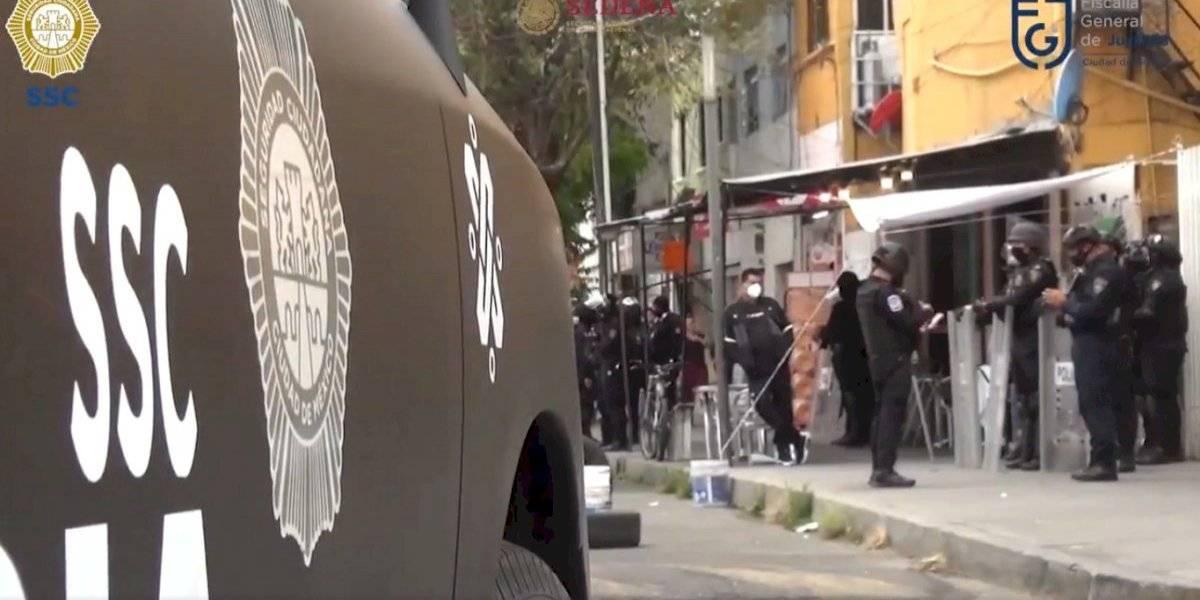 Operativos contra narcomenudeo deja 9 detenidos en CDMX