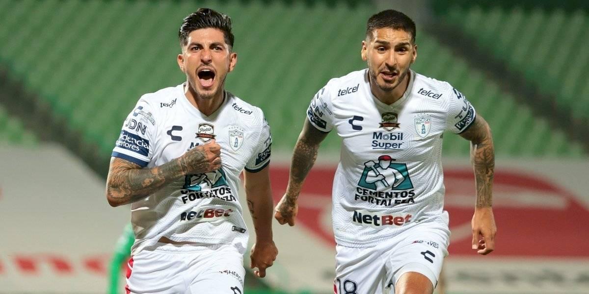 El gol de Óscar Murillo en el Pachuca vs Santos