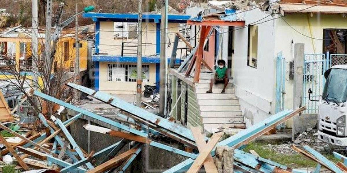 La furia del huracán Iota acabó con todo en la isla de Providencia