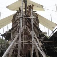 Crean en Costa Rica el buque de madera más grande del mundo