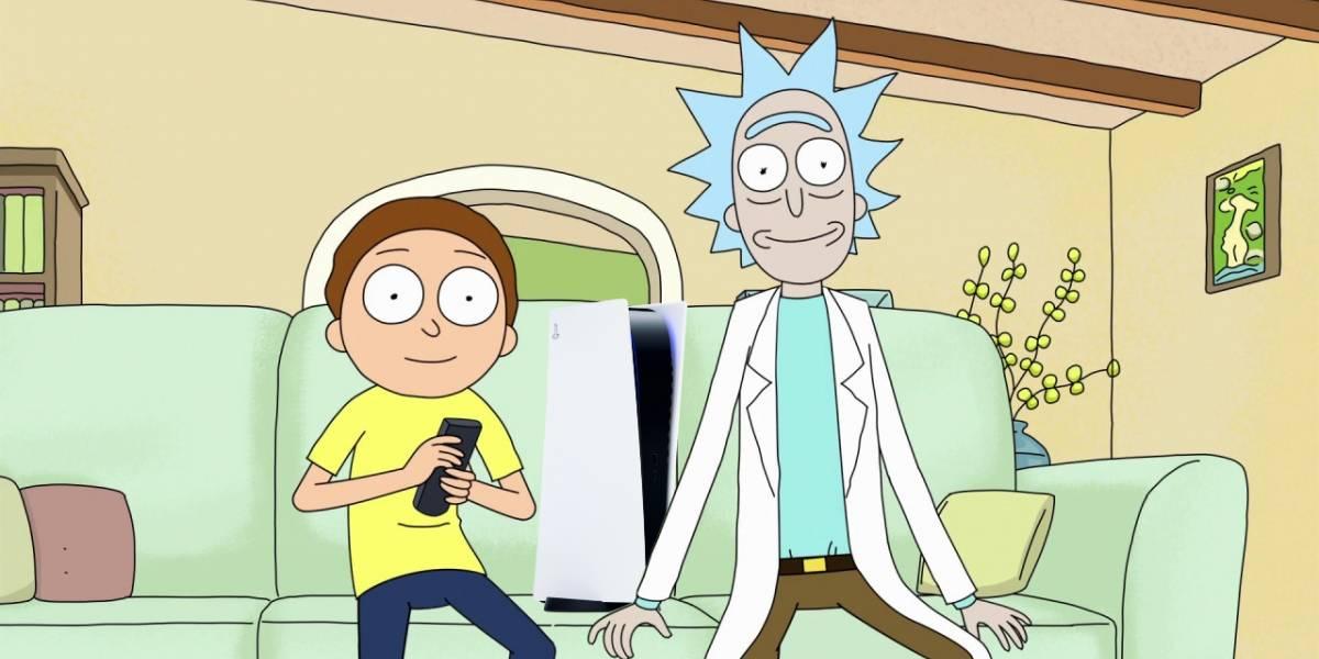 PlayStation 5 hace equipo con Rick y Morty en un extraño y divertido comercial