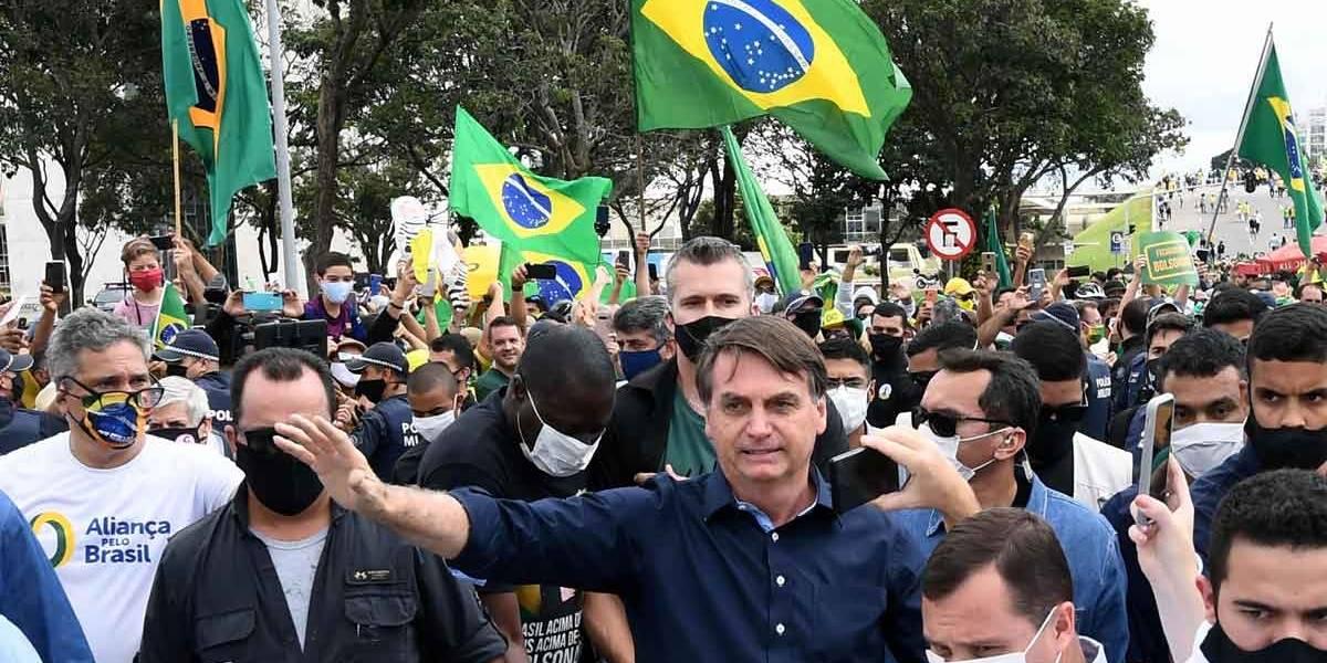 Increpan a Bolsonaro tras criticar manifestaciones por la igualdad racial en un discurso ante el G20