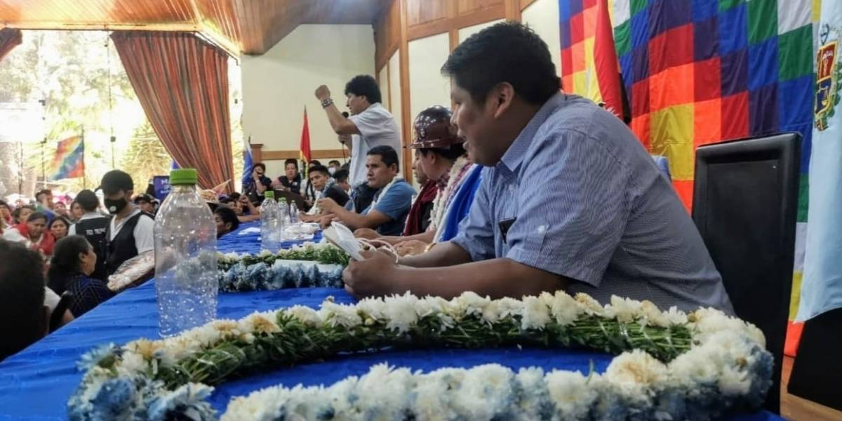 Bolivia.- Morales y Arce se reencuentran en el Ampliado Nacional del MAS y fijan como objetivo las elecciones de marzo
