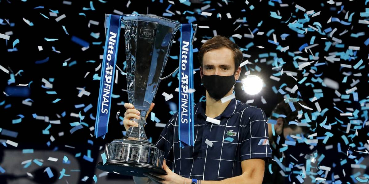 Daniil Medvedev se consagra como campeón del ATP Finals