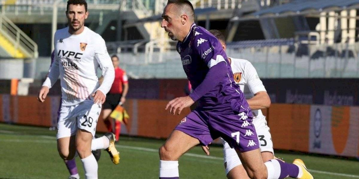 Frank Ribery enciende las alarmas tras sufrir lesión en Serie A