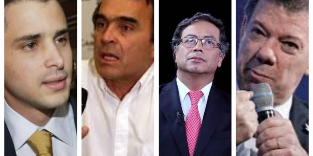 Tomás Uribe se lanzó contra Fajardo, Petro y Santos
