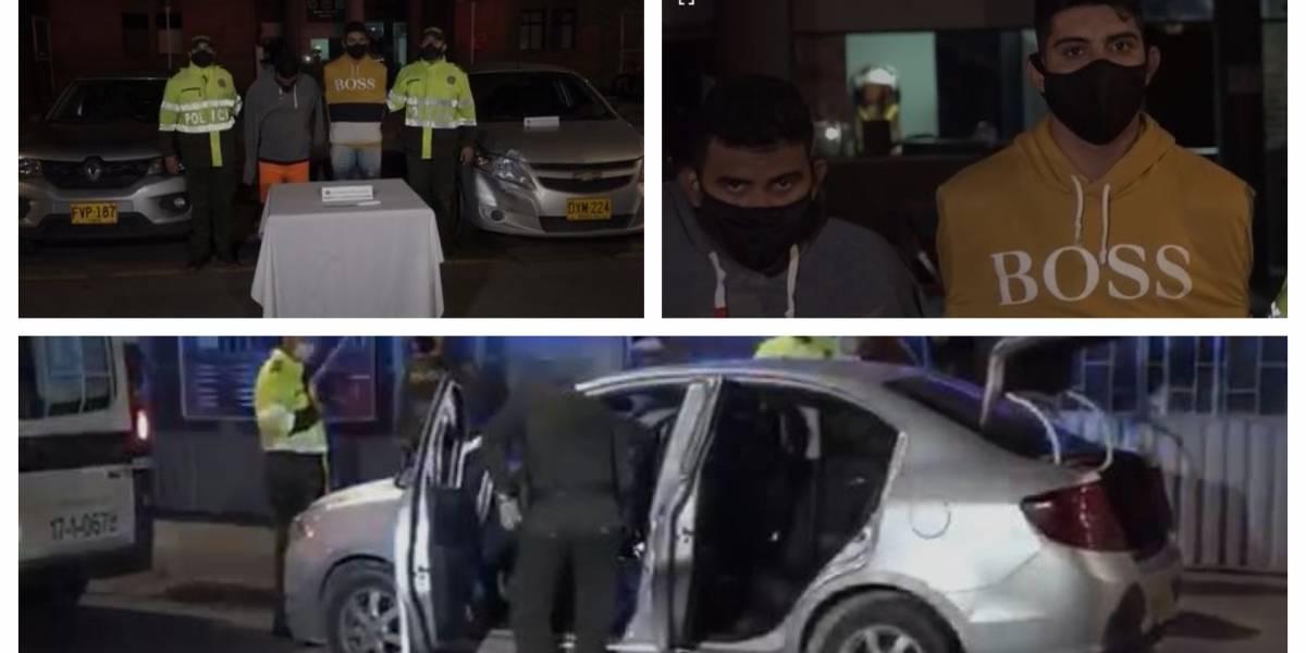 En persecución por aire y tierra, recuperan dos vehículos hurtados en Engativá