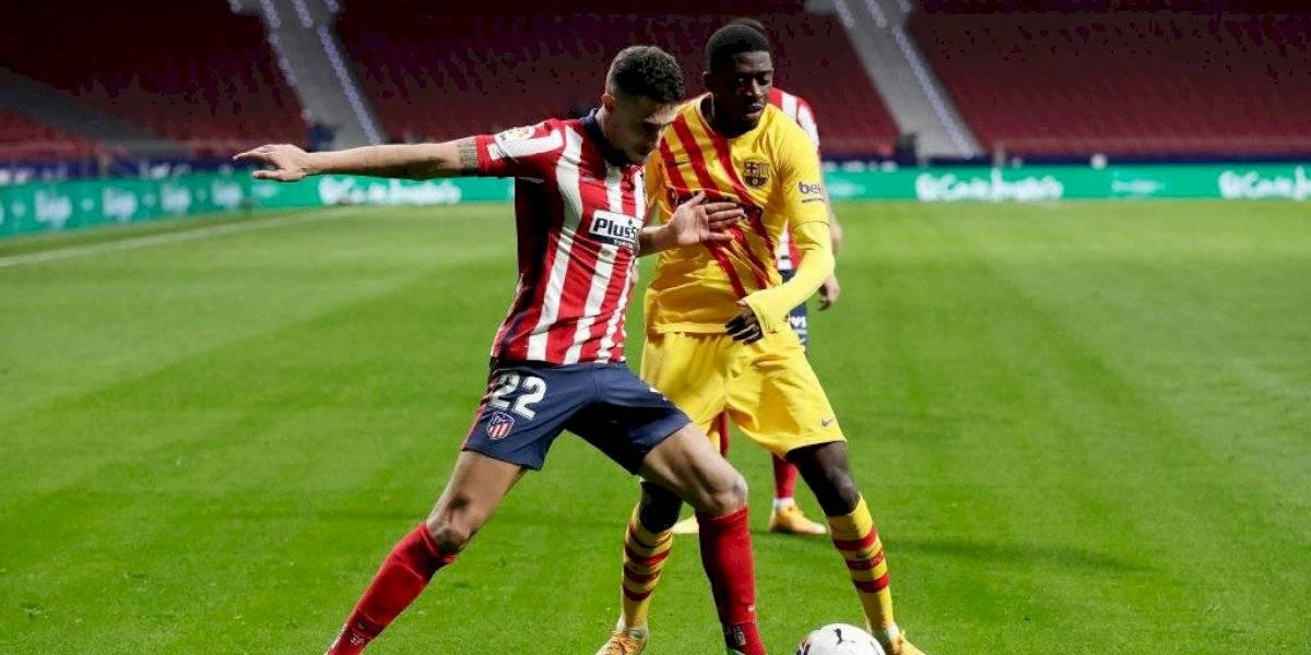 Ousmane Dembélé también se habría lesionado contra el Atlético de Madrid
