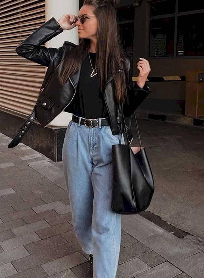 Looks llenos de elegancia y estilo con chaquetas de cuero para mujeres de  40 y 50 | Nueva Mujer
