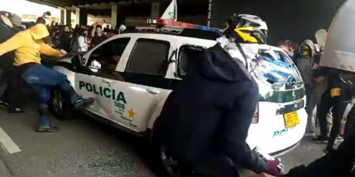 Entregan detalles sobre detenidos por vandalismo durante marchas en Bogotá
