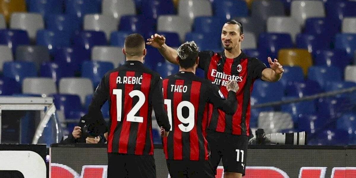Zlatan Ibrahimovic, con 39 años es el máximo goleador de Italia y coloca al AC Milan como puntero