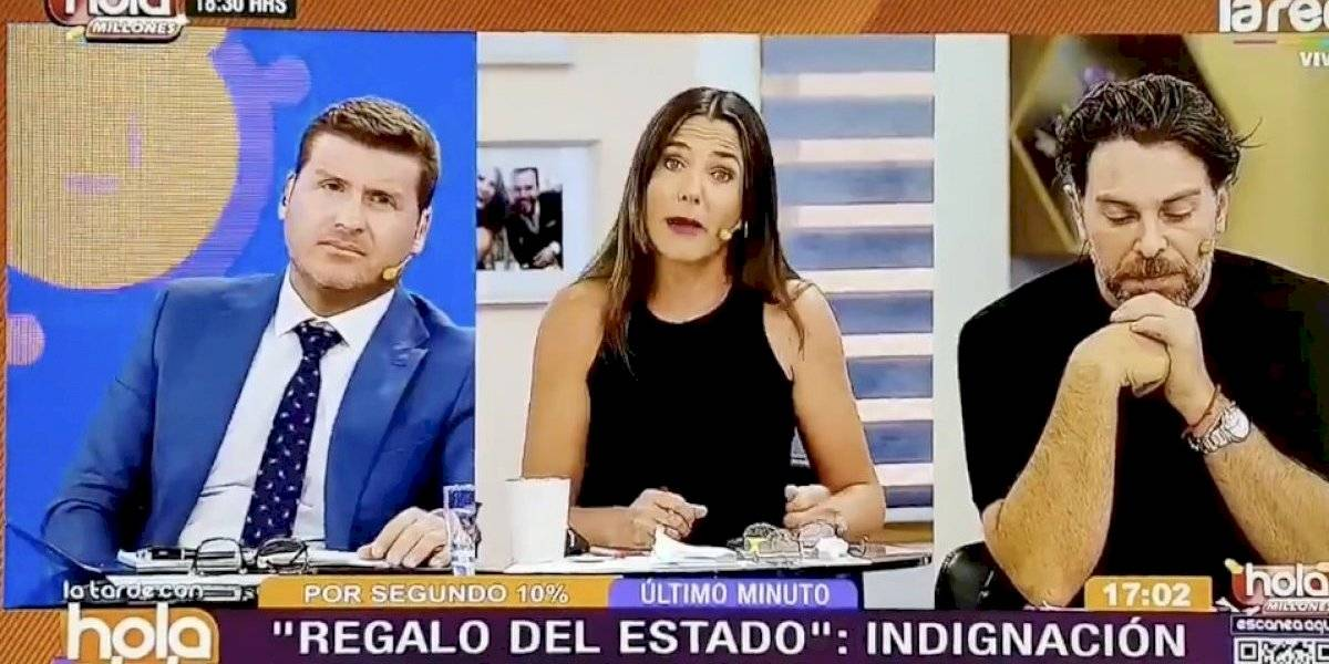 """El desatado enojo de Julia Vial con ministra Zaldívar: """"¿De qué estamos hablando?, paremos la tontera"""""""