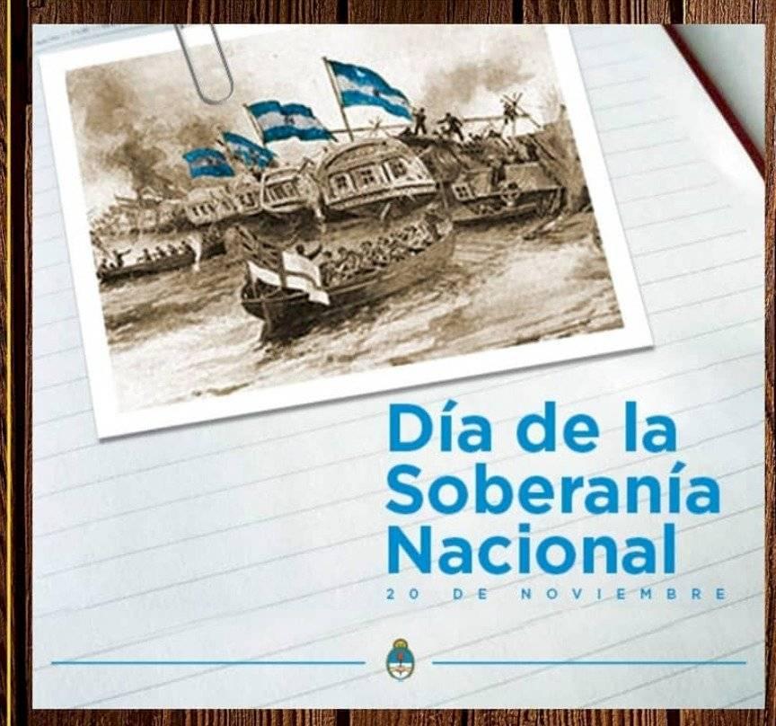 Día de la soberanía Argentina