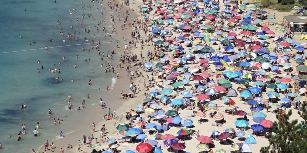 Comunas de destino más solicitadas en Permiso de Vacaciones: La Serena, Coquimbo, Algarrobo y El Tabo