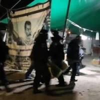 Madruga policía estatal y Guardia Nacional a opositores de termoeléctrica en Morelos