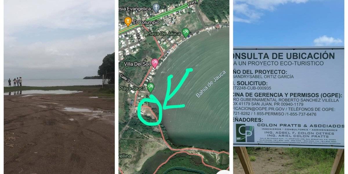 Denuncian intención de bloquear lo que queda de acceso a la playa en Santa Isabel