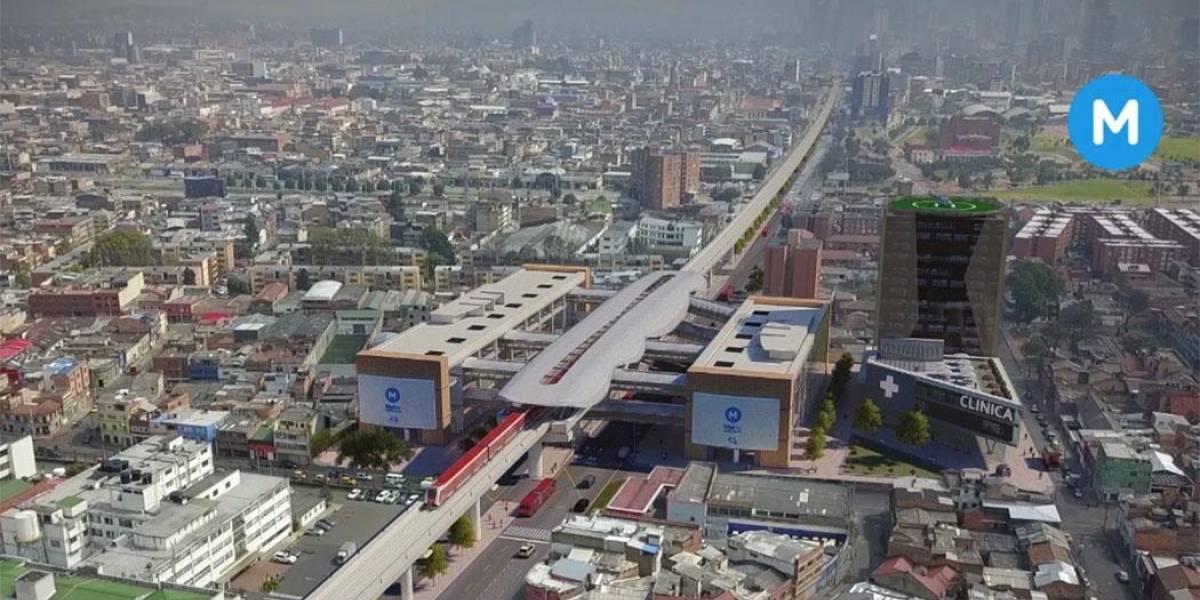 Segunda línea del Metro de Bogotá irá a Suba y Engativá, pero no por la calle 80