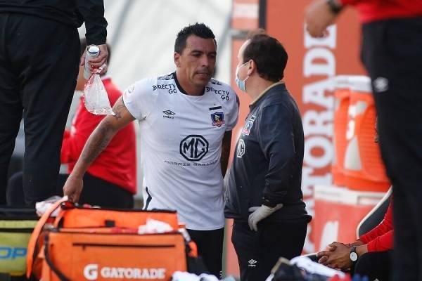 Colo Colo y un nuevo dolor de cabeza: Esteban Paredes sufre una fractura y tendrá que ser operado