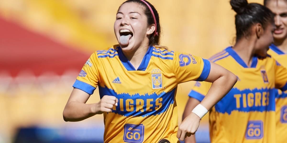 Es Katty Martínez garantía de gol en Tigres