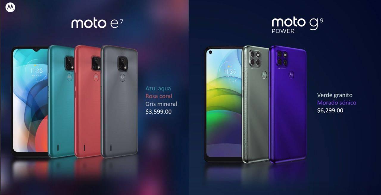 Motorola Moto™ e7 Moto™ g9 power