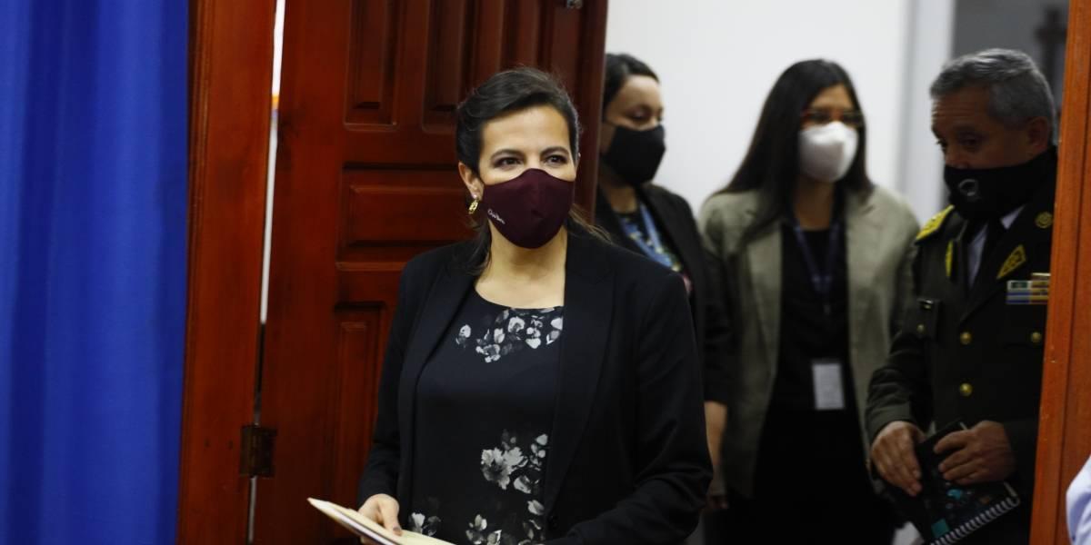 """Juicio político a María Paula Romo: """"¿Hubo centros de paz? ¿Dónde estuvieron los centros de guerra?"""""""