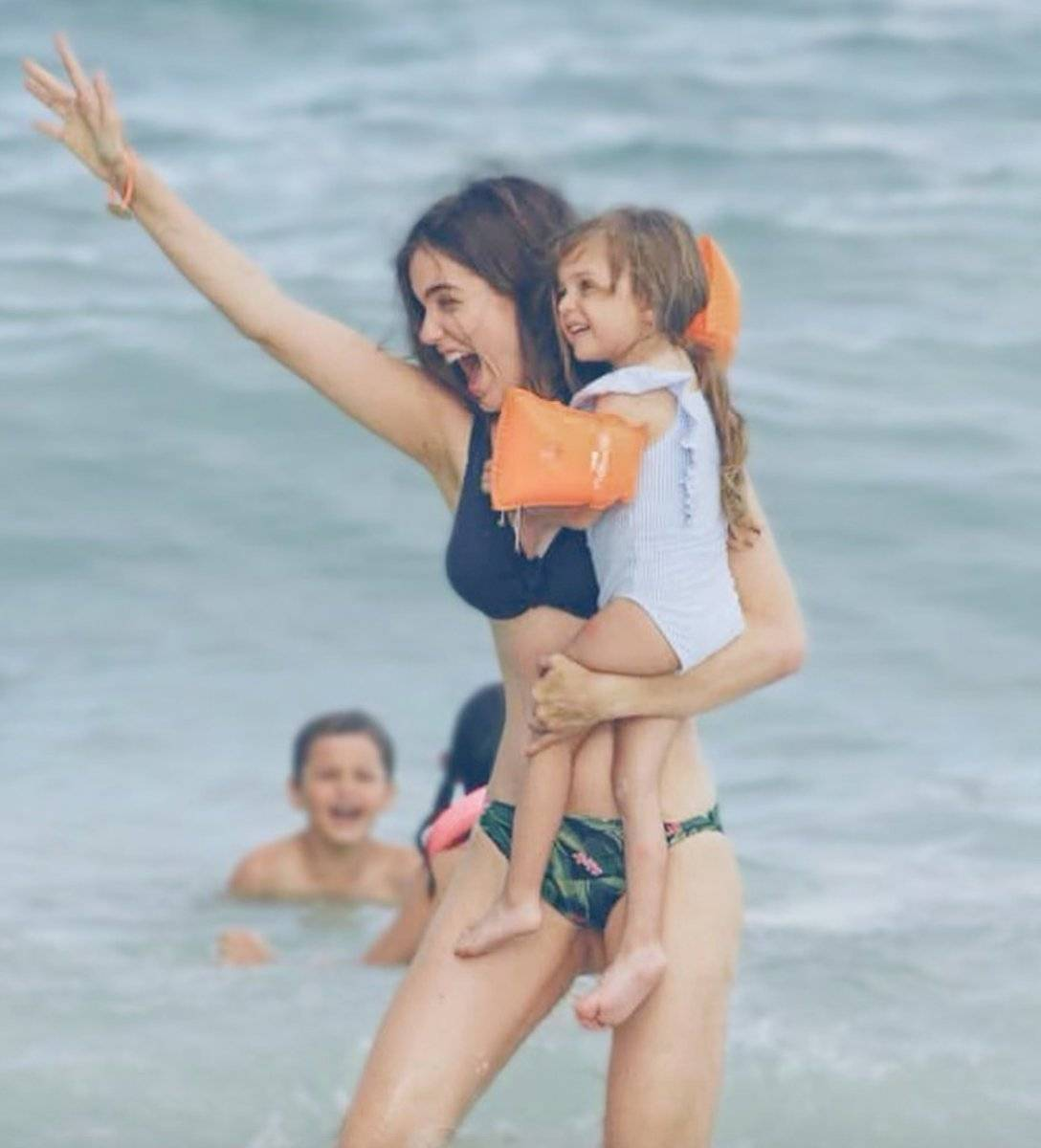 Millaray VIera y su hija Celeste