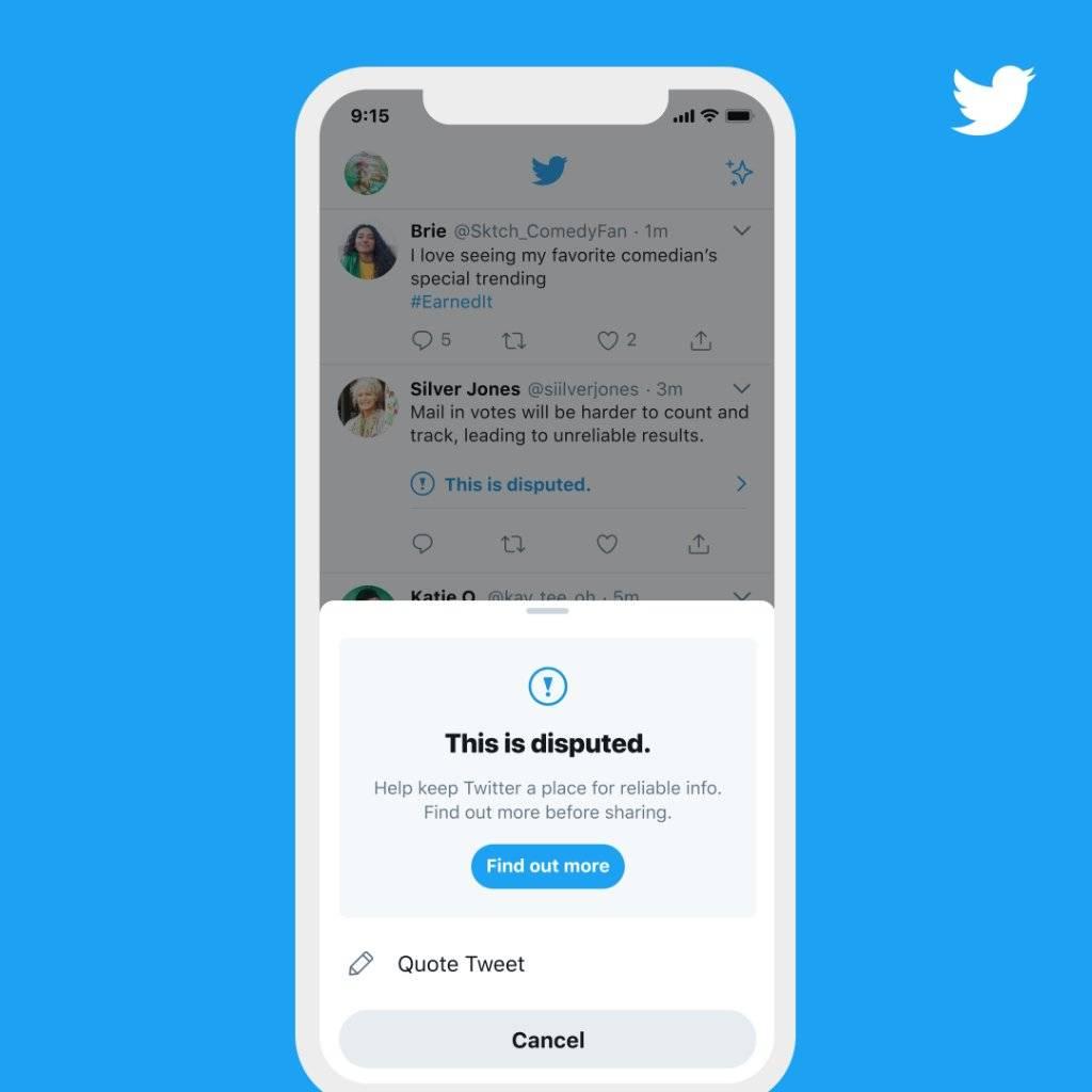 Nueva medida en Twitter.
