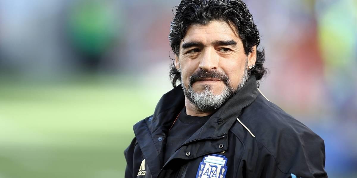¡Un nuevo proyecto! La última publicación de Maradona en Instagram