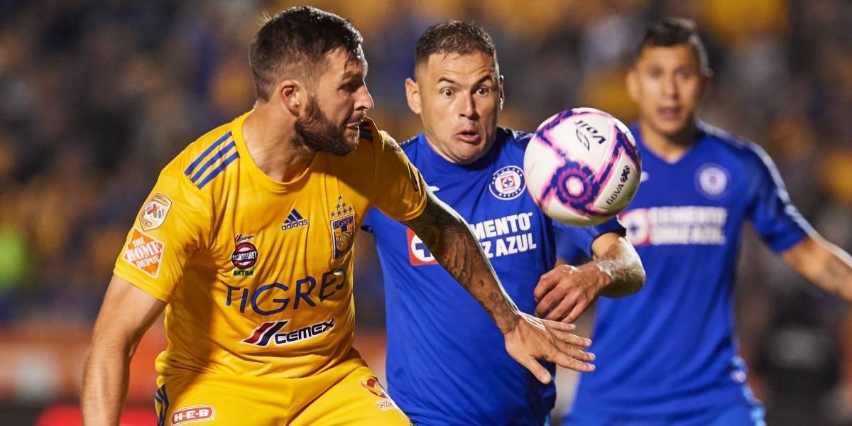Tigres va por ventaja en casa ante Cruz Azul