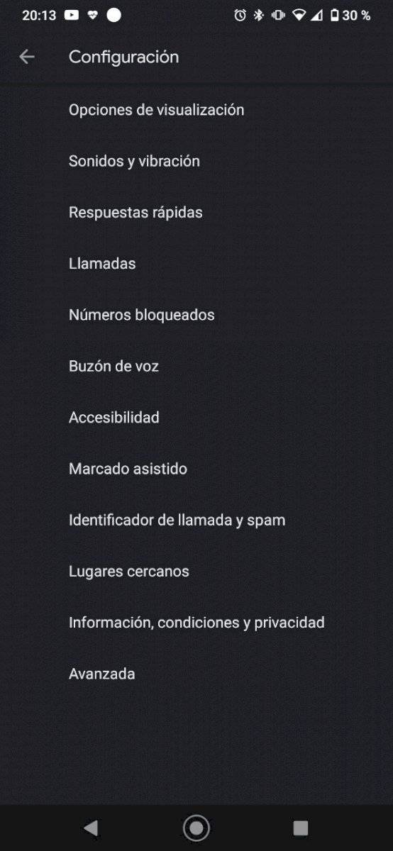 Android lugares