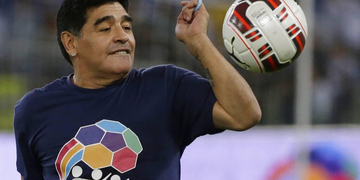 """La última entrevista de Maradona: """"Fui y soy muy feliz"""""""