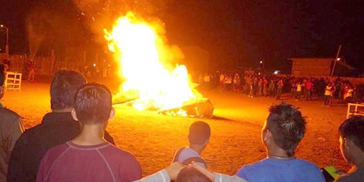 COE Guayaquil autoriza la quema de 'años viejos', pero dicta reglas