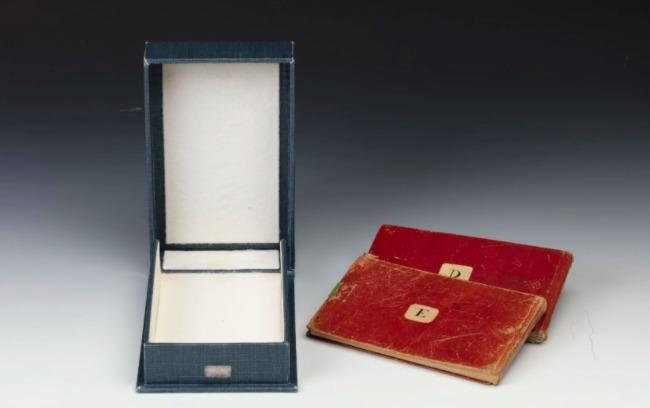 Los cuadernos de Charles Darwin.