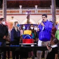 El ostentoso cumpleaños de Nicolás Maduro que fue transmitido por televisión