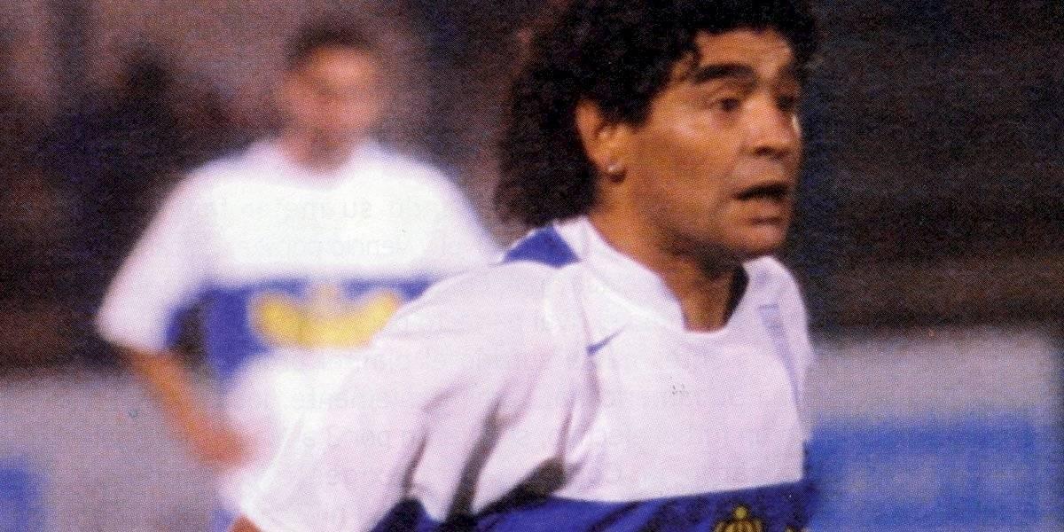 El día en que Diego Maradona defendió la camiseta de la UC