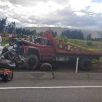 Fatal accidente en Salache, Cotopaxi deja al menos cuatro fallecidos